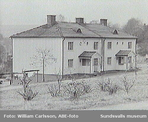 Skön befintlig bebyggelse hösten 1967.