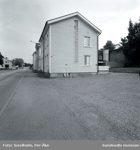 Inventering Stadsmon. Björneborgsgatan 26.