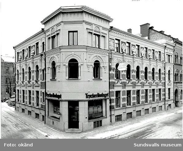 Kvarteret Vesta efter fasadrenovering.