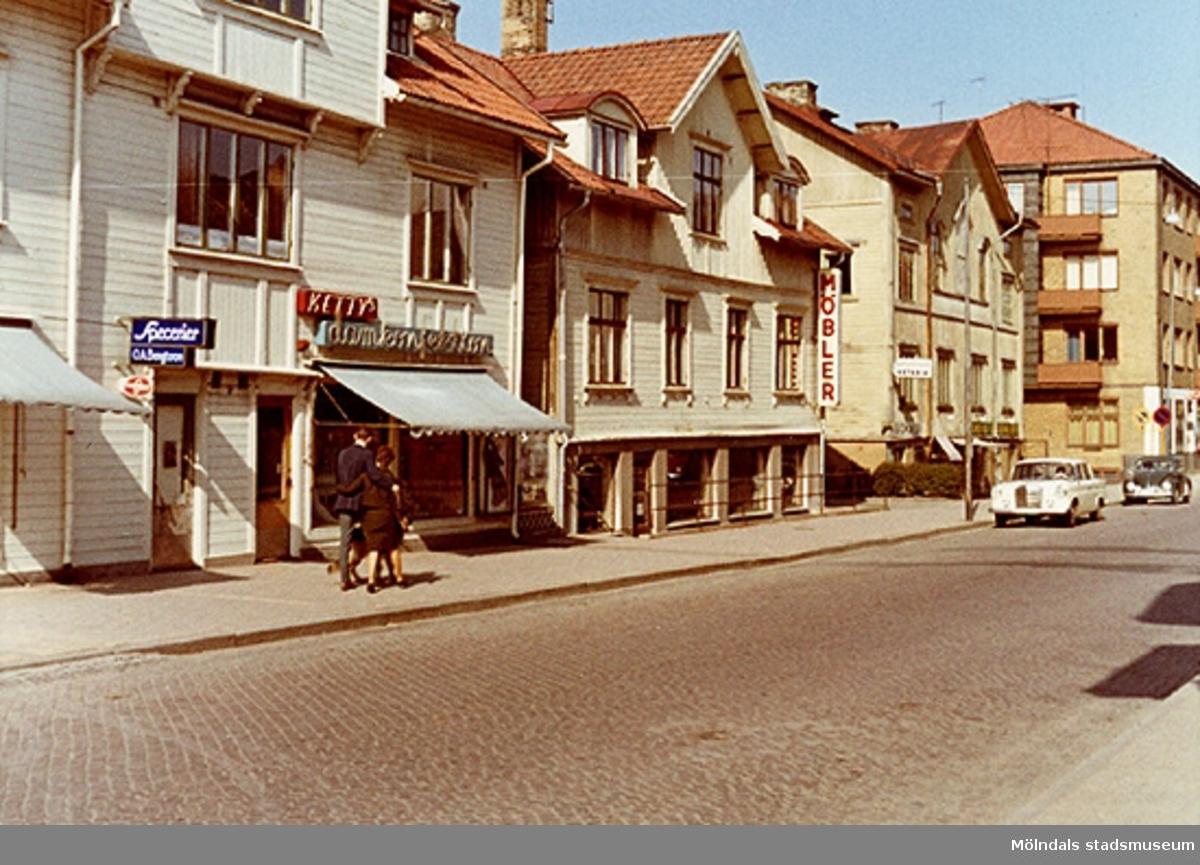 Idag Brogatan i Mölndalsbro. Okänt årtal.