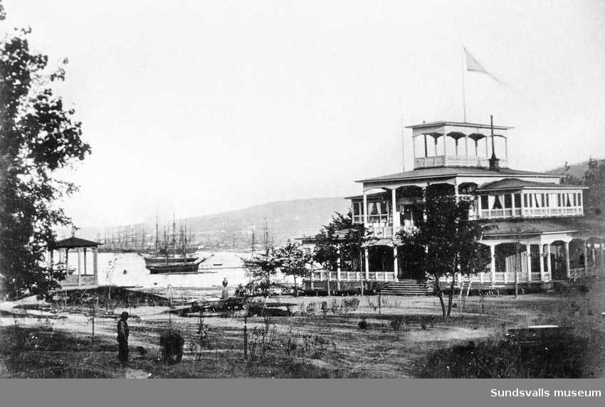 Tivoli, 1870-talet. Uppfördes 1871.
