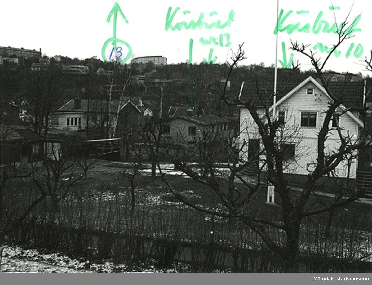 Bostadshusen på Lyckogatan 4A och 6 i Toltorpsdalen, Mölndal.