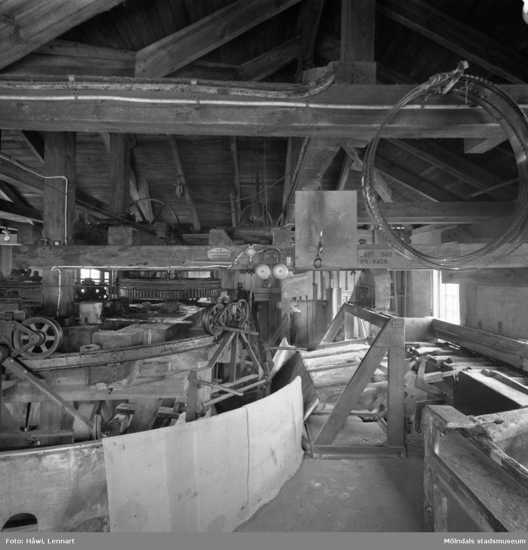 Gamla renseriet på Papyrus i Mölndal, 23/3 1961.