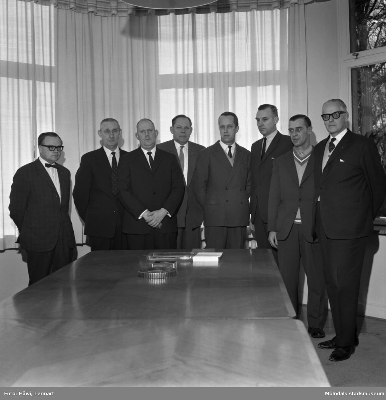 Förslagspristävlan på Papyrus 1964. Prisutdelning. Papyrus i Mölndal, 2/3 1965.