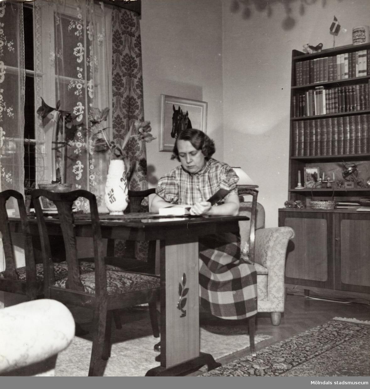 Inga-Lill Börjesson 1956.