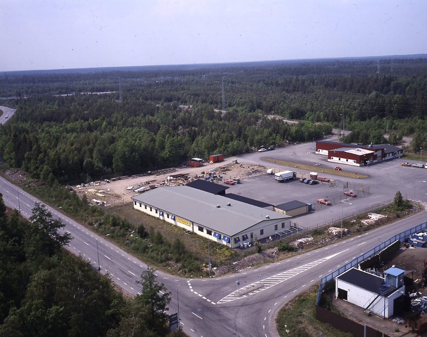 Oskarshamn postterminal.
