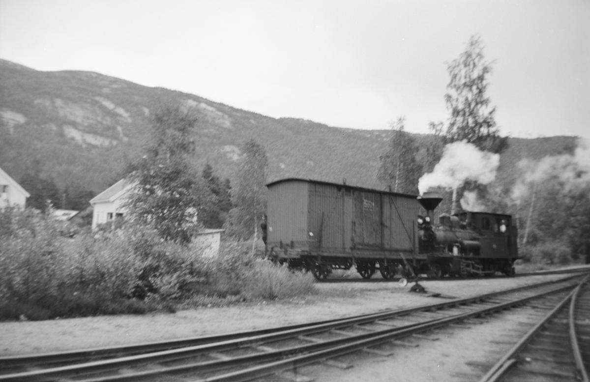 Skifting på Byglandsfjord stasjon