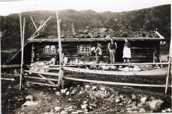 Gamlebua på Ershovd i Hemsedal som framleis er Kirkebøens ei