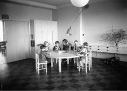 Fredrik Eens Minne Hem för ensamma mödrar, interiör