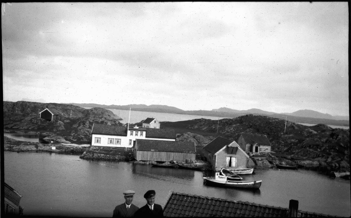Borgerhuset på Husøy i Solund