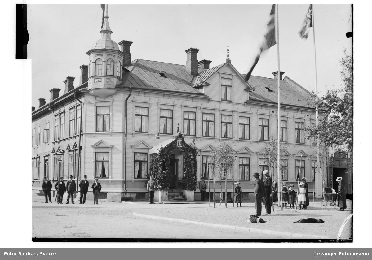 Gamle Backlund Hotel i Levanger