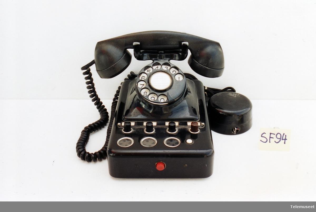 Eksoedisjonsapp for 7011, 3 bylinjer med 8 telefoner Kat nr 2734 G
