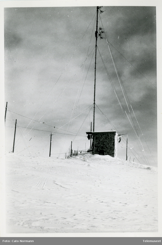 Radiolinjestasjon Tronkalven radio, RL Oslo-Trondheim