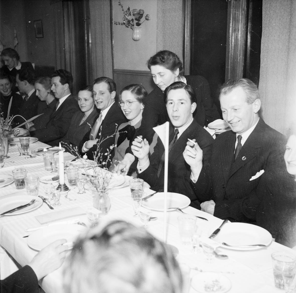 Kanotsällskapet Ägirs 20 årsjubileum, Uppsala 1949