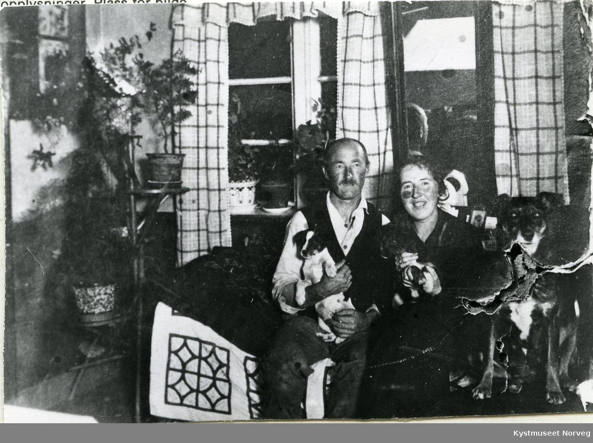Paul og Johanna Woxeng
