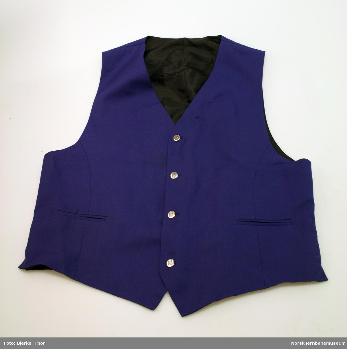 Uniformsvest for NSBs merkevare SIGNATUR, størrelse 56