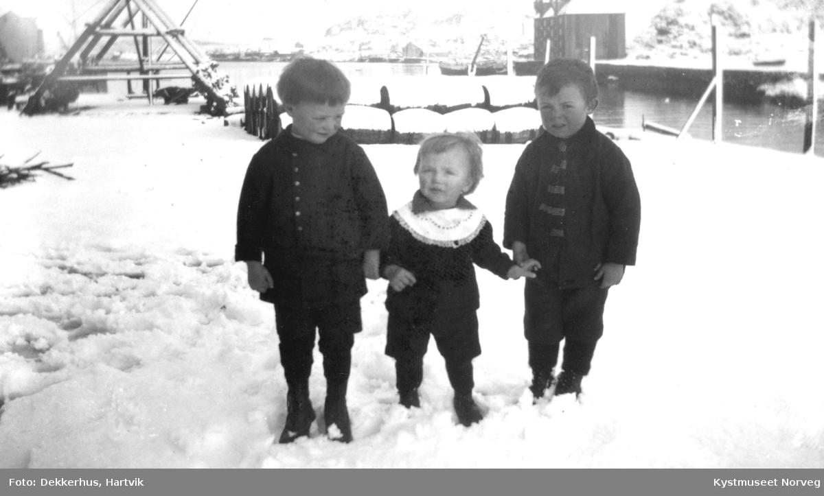 3 ukjente barn på Nordholmen i Kristiansund