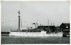 Expressångaren BOHUSLÄN på sin jungfruresa pingst 1914.