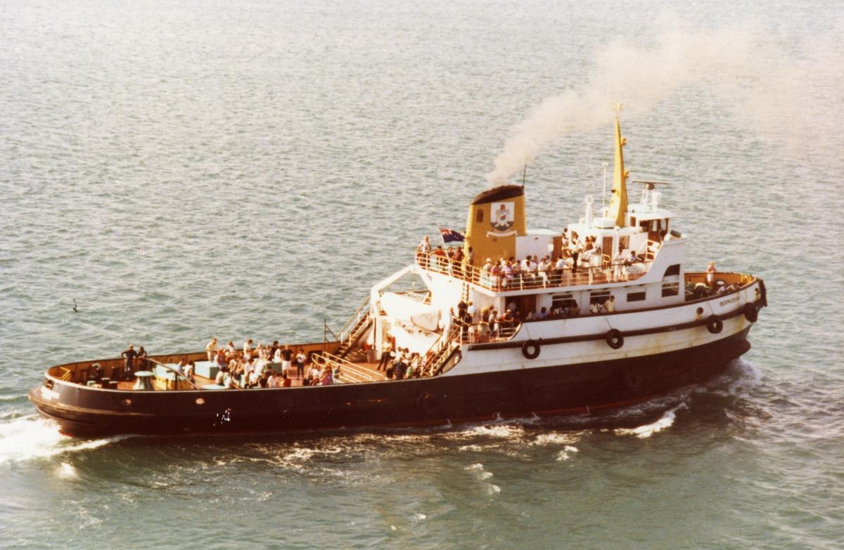 M/S 'Bermudian' (Ex. Patao)(b.1943, Marietta Manufacturing Co., Point Pleasant, West Virginia).