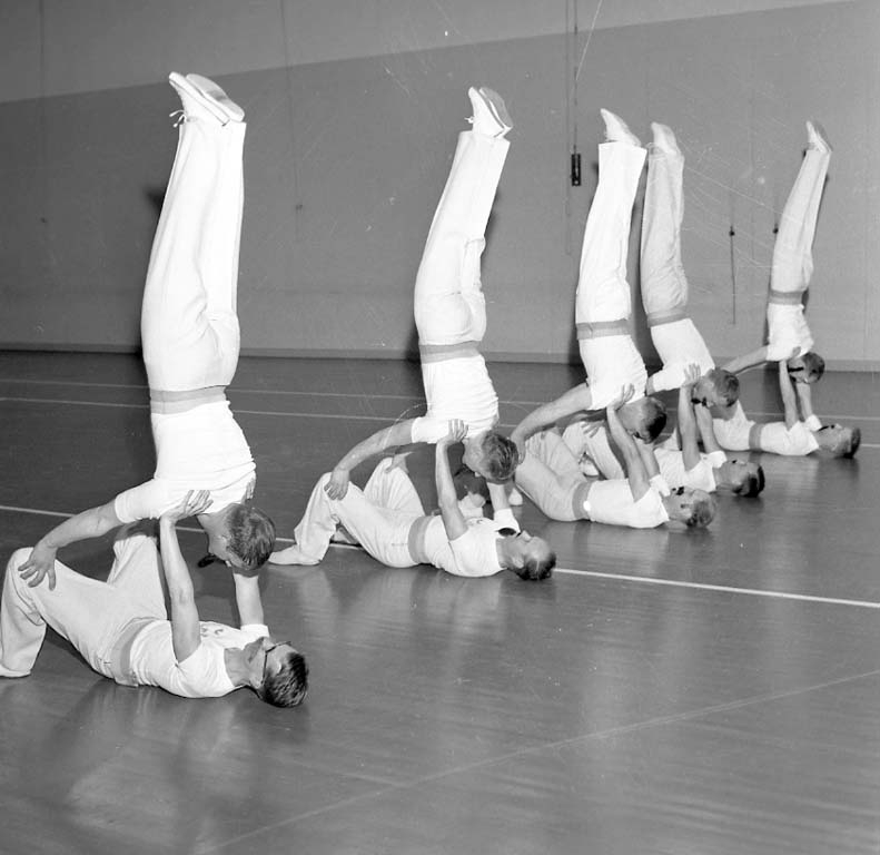 Gymnastikuppvisning