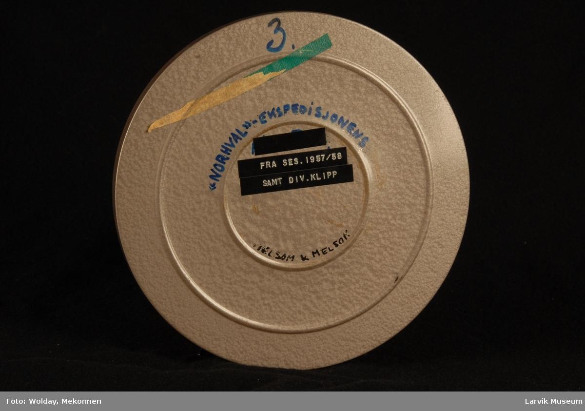 Norhvalekspedisjonen Sesongen 1957/58 samt div. klipp