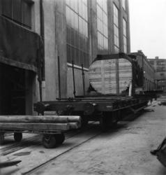Montering av STAL-turbinen på Papyrus, 25/4-1951.