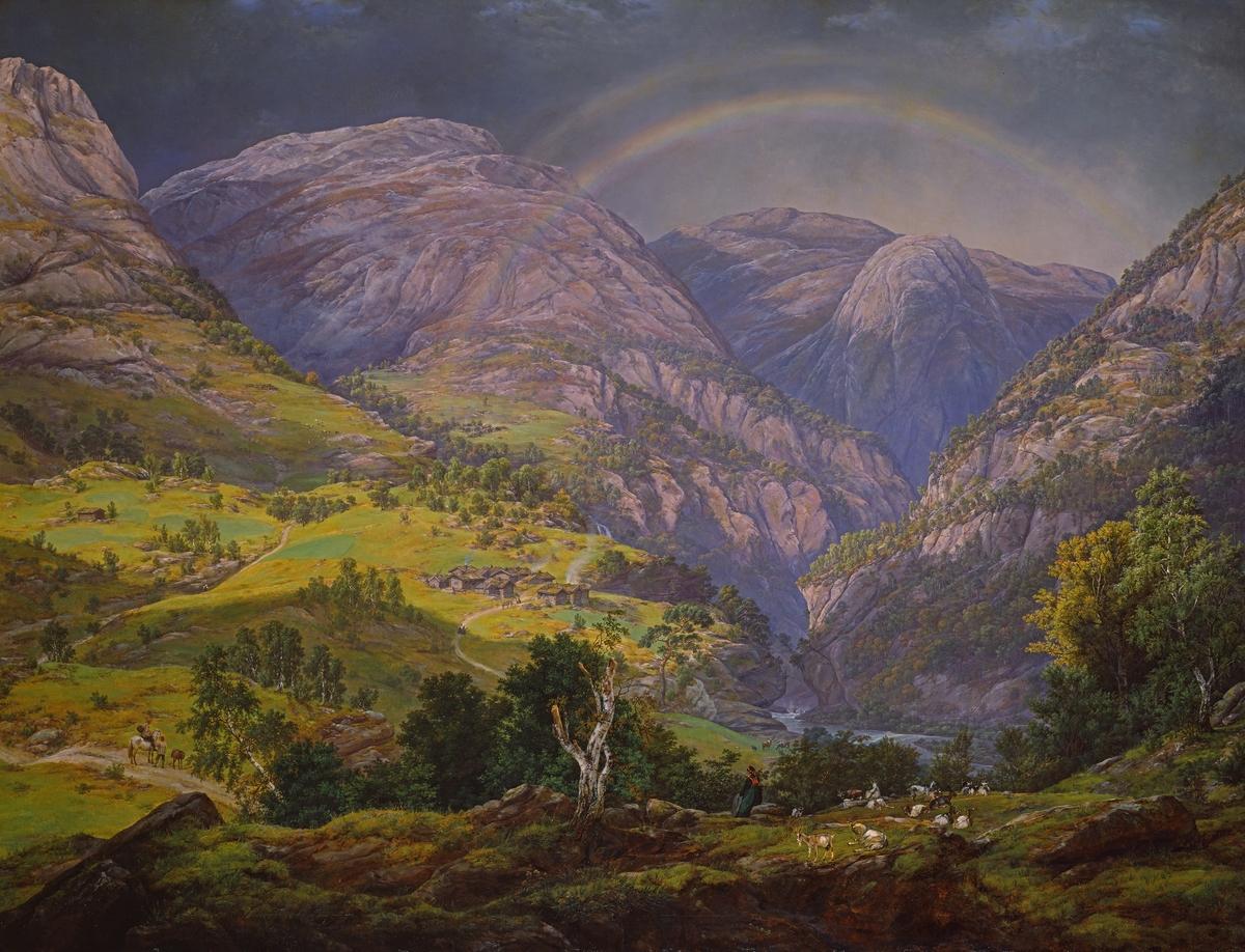 Fra Stalheim [Maleri]