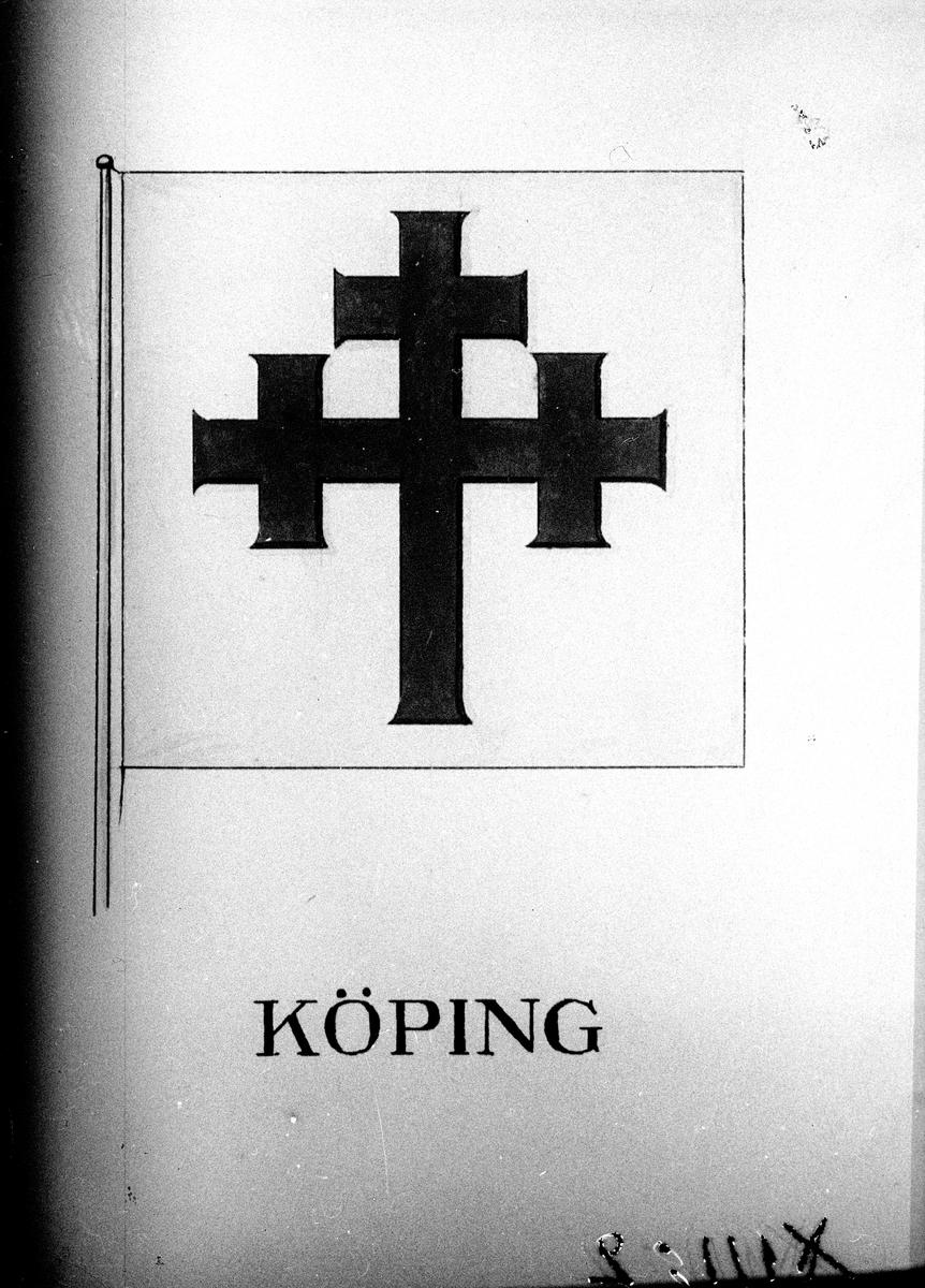 Köpings stadsvapen. Fotograf Lindén.
