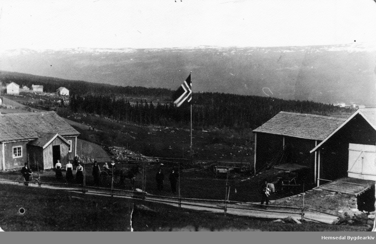 Frå garden Ålstveit, 55.1, på Ulsåk i Hemsedal.