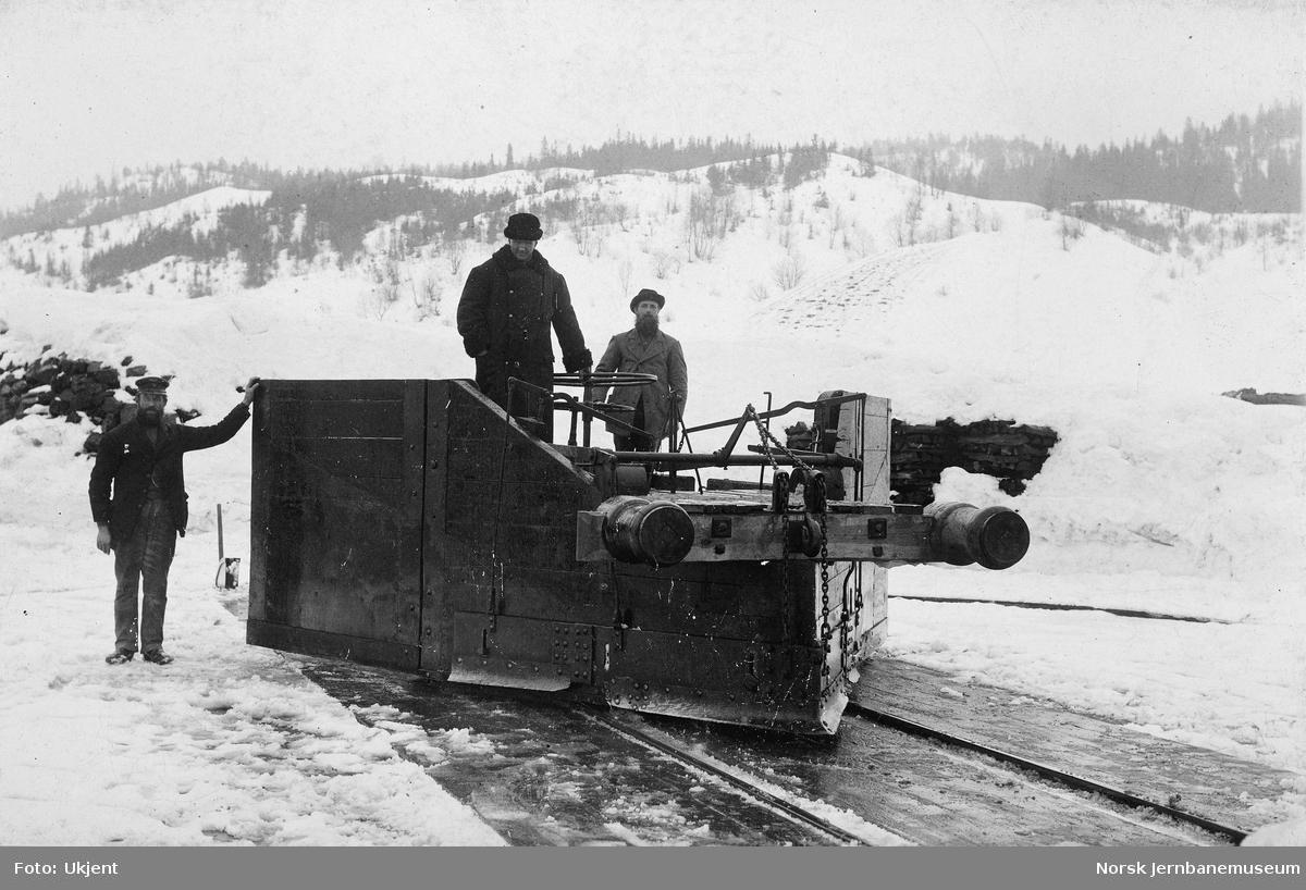 Gammel sporrenser fra Meråkerbanen
