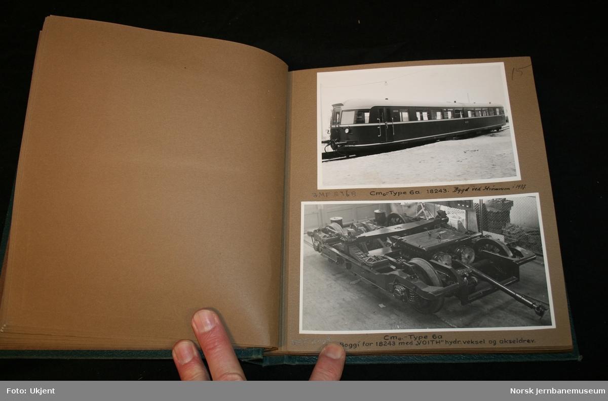 Motorvogner, skiftetraktorer samt busser fra Selburuten