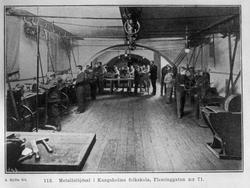 Metallsløydsal Kungsholms folkeskole