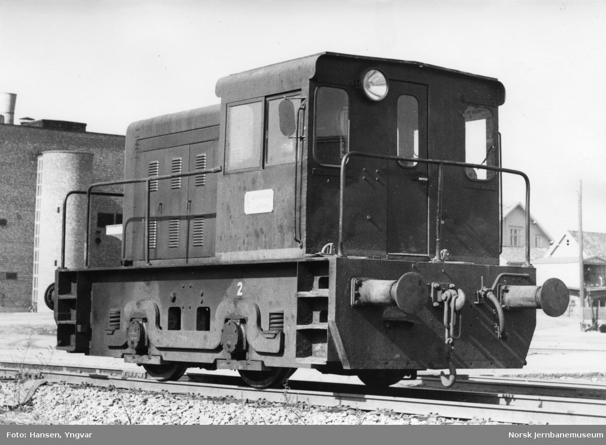 Borregaards diesellokomotiv nr. 2, fabrikat Davenport