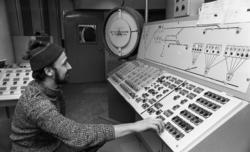 Hammars glasbruk. Sten Persson. 15 februari 1972