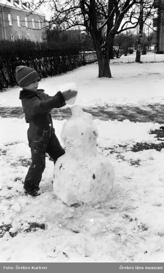 Vinter igen 22 mars 1983