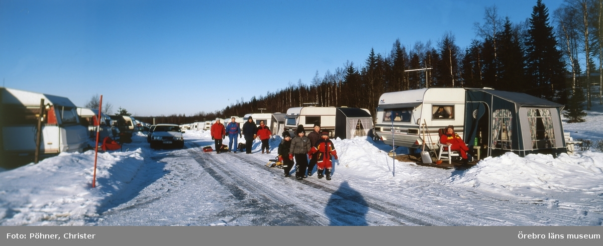 Ånnaboda,vinter,husvagnscamping