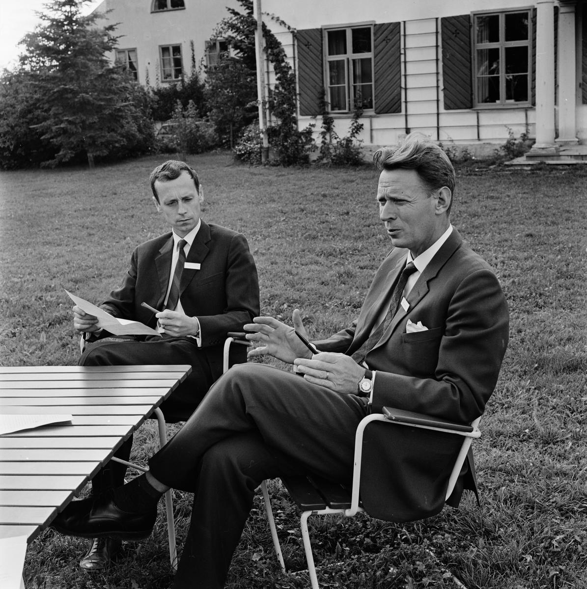 Biskops Arnö, Övergrans socken, Uppland september 1963