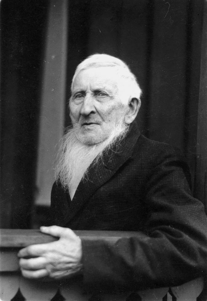 August Mattsson på äldre dar.