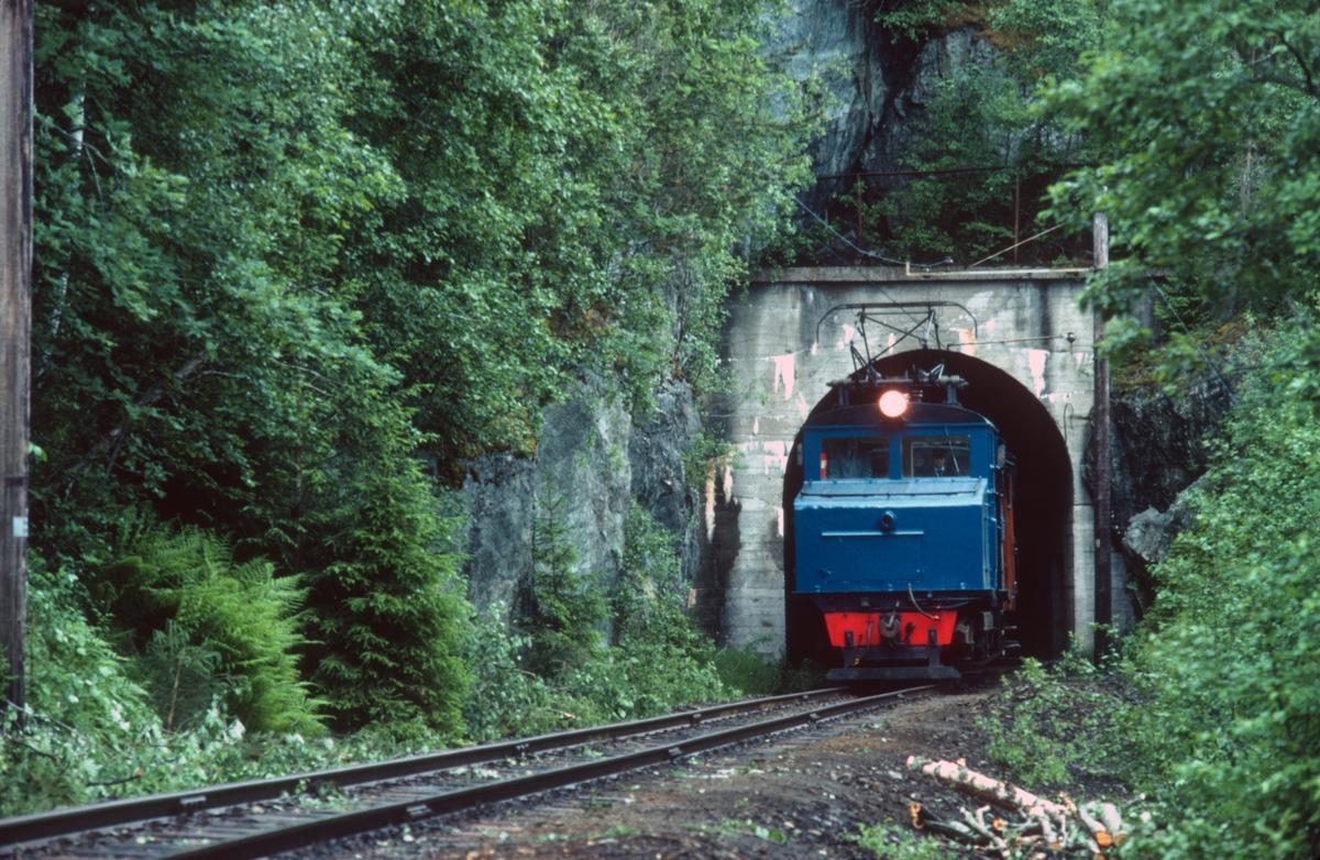 Museumstog på vei fra Løkken til Svorkmo med Salvesen og Thams lokomotiv nr. 5.