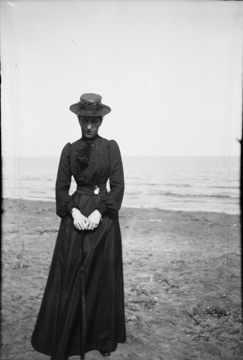 Drottning Victorias bilder. En kvinna vid havet.