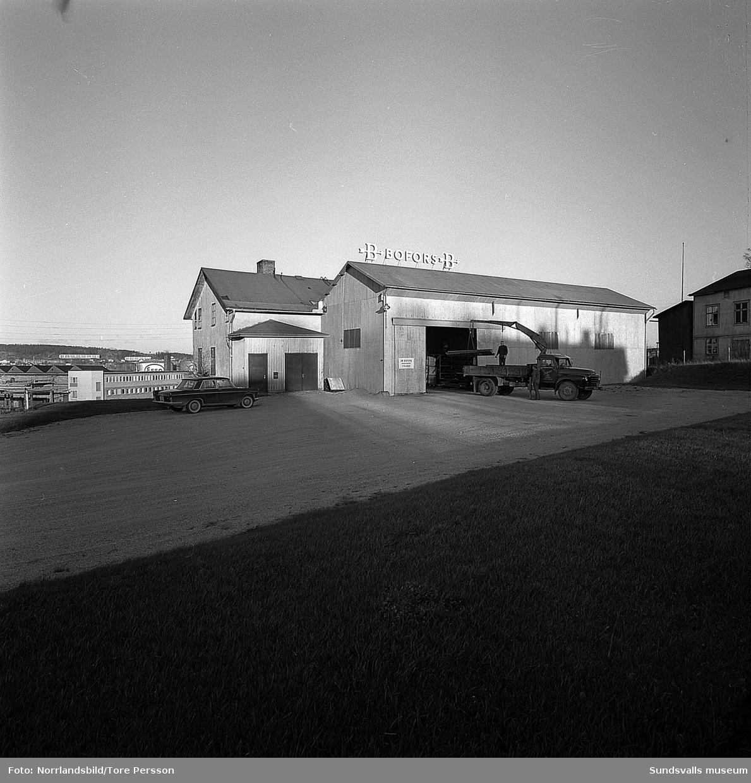 Bofors AB vid Vindskärsvarv.