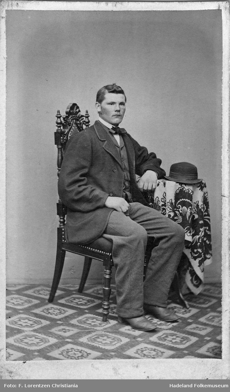 Portrett av Iver Nilsen Mjør, f. 1841