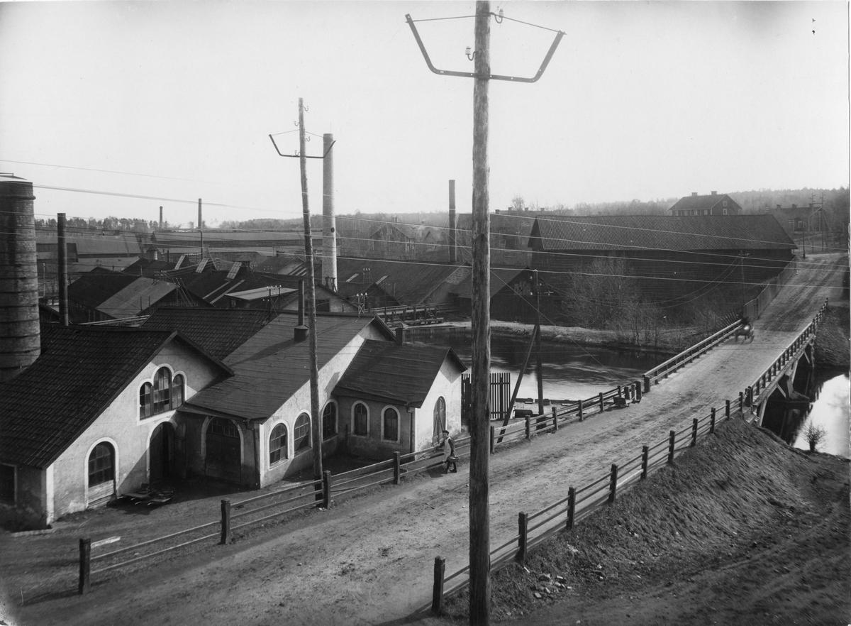 Kohlswa Jernverk, sett från norr, 1910.
