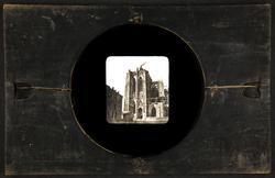 "Fotografisk laterna magica bild. ""Cathedralen i Minister""."