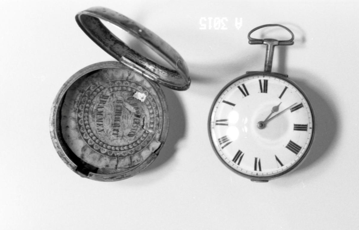 Uret har ingen sekundviser.