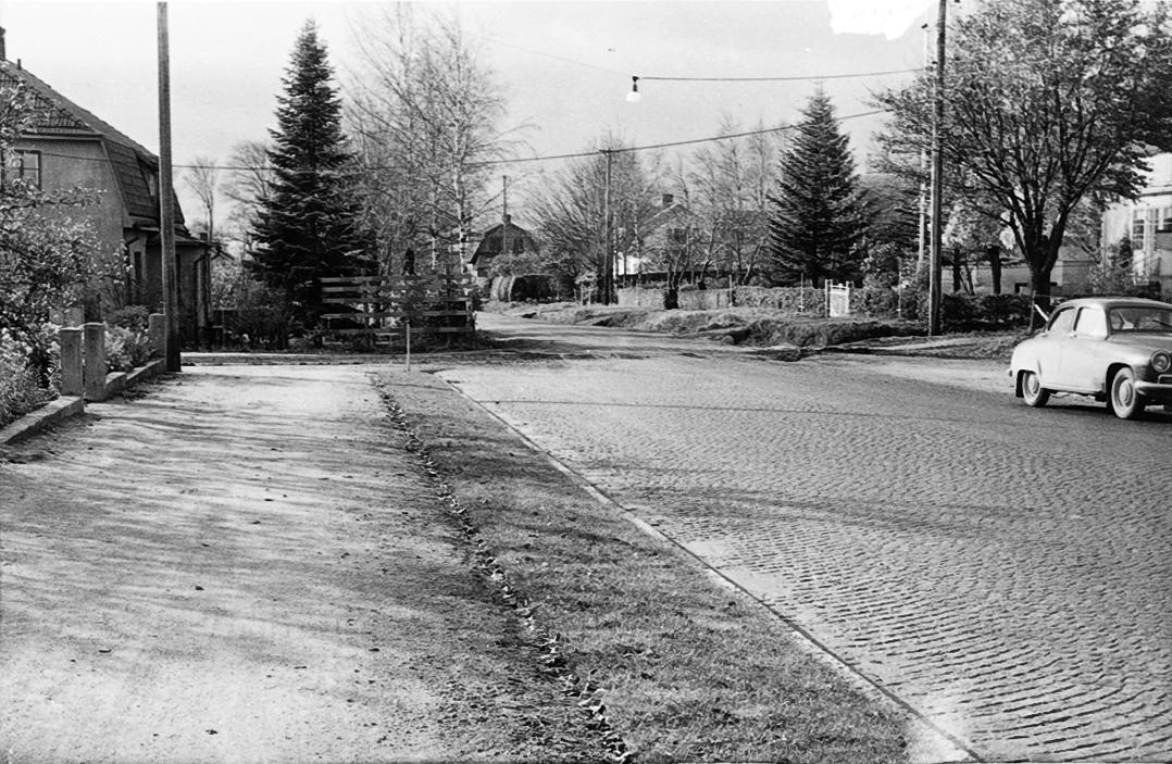 Danska vägen 160-Daléngatan.