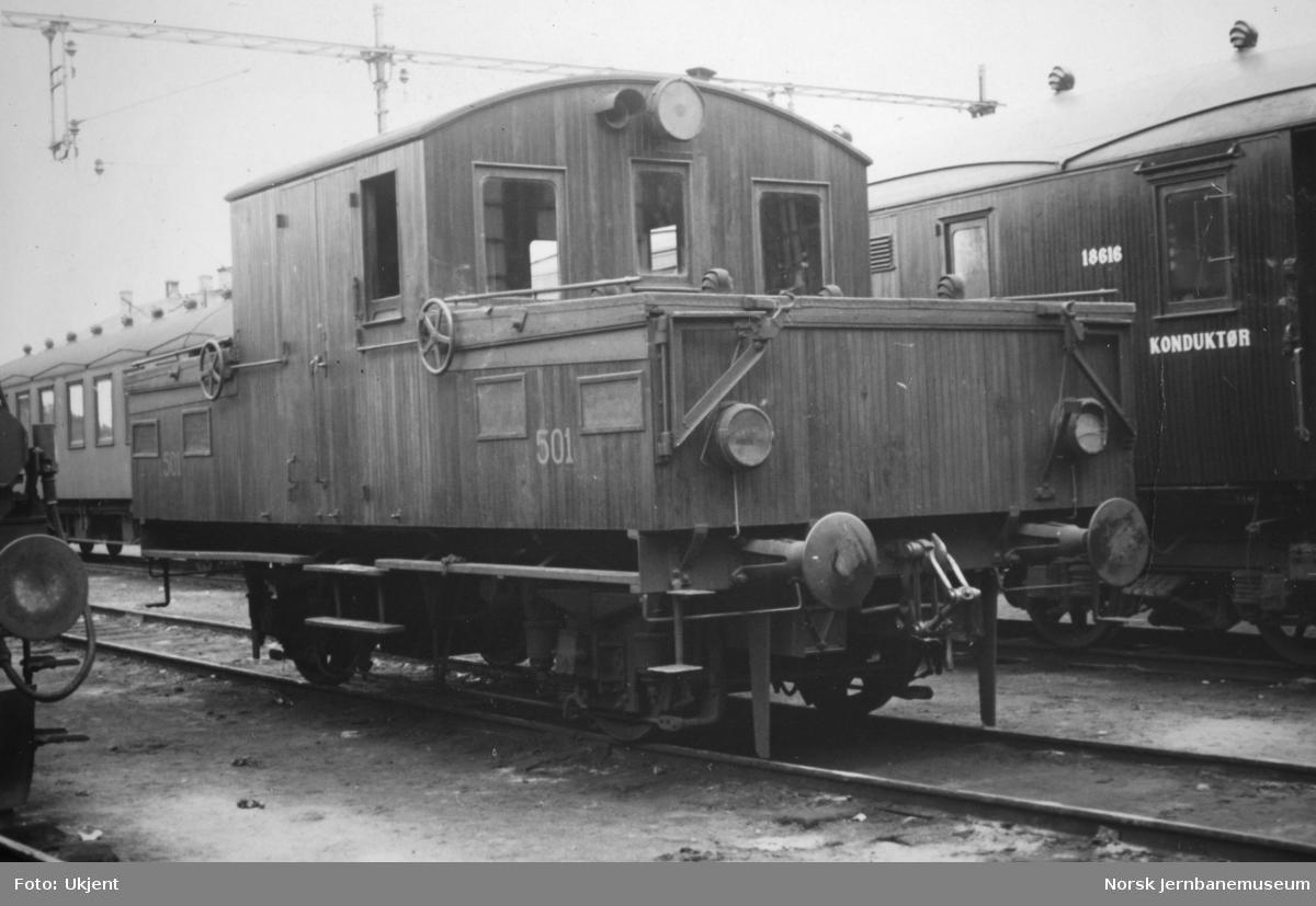 Akkumulatorlokomotiv litra Ea1 nr. 501