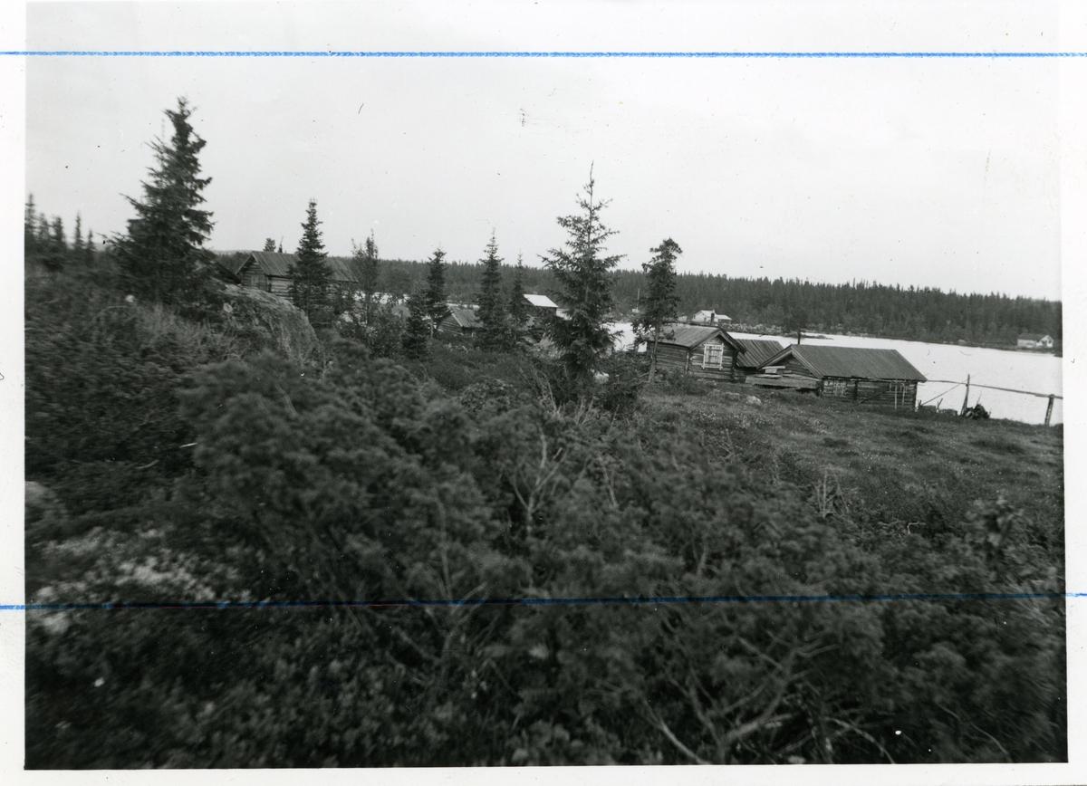 """"""" Naustebyen"""" i Høvrin i Sør-Aurdal kommune i Valdres."""