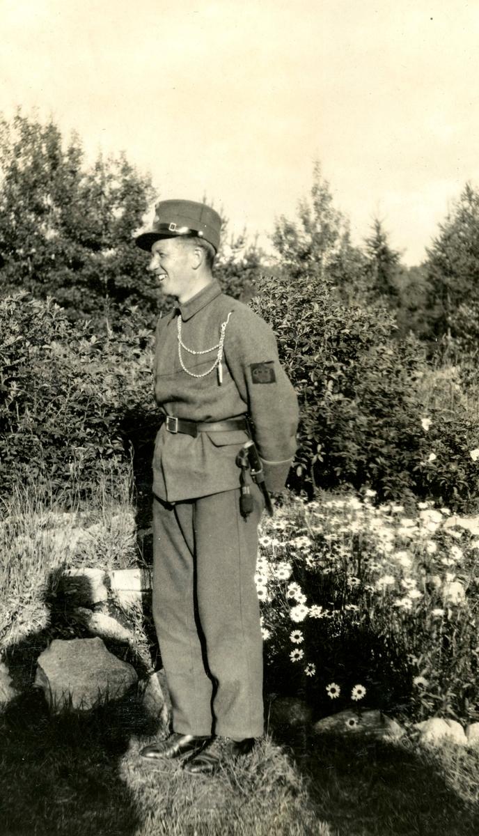 Birger Ruud i uniform