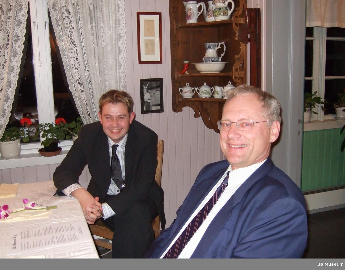 Foto frå 30-års jubileet til Bø Museum